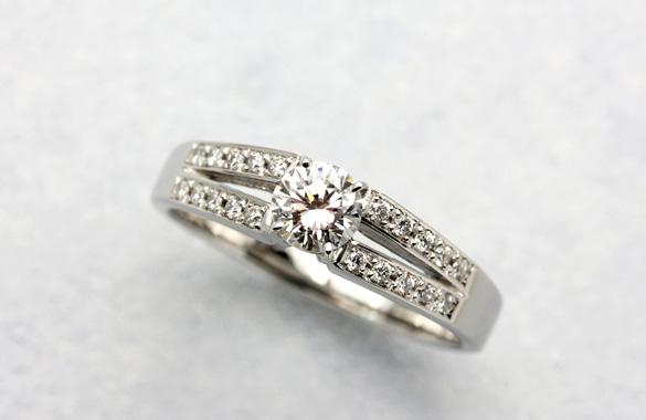 ジュエリーリフォーム ダイヤモンド 指輪